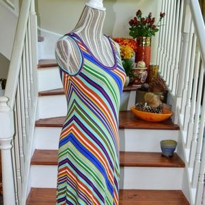 Calvin Klein Striped Dress Size 8